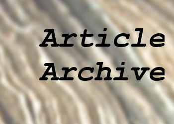 Article Archive