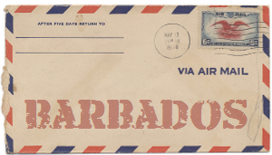 Recent missionary letter from Barbados