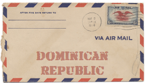 Recent missionary letter from the Dominican Republic