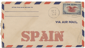Recent missionary letter from Spain