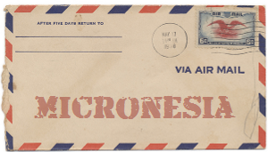 Recent missionary letter from the Federated States of Micronesia
