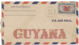 Recent missionary letter from Guyana