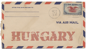 Recent missionary letter from Hungary