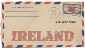 Recent missionary letter from Ireland