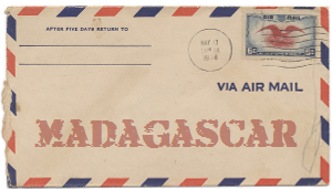 Recent missionary letter from Madagascar