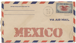 Recent missionary letter from Mexico