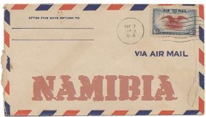 Recent missionary letter from Namibia