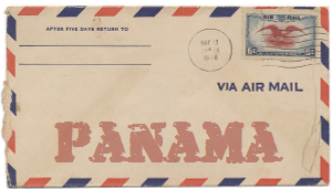 Recent missionary letter from Panama