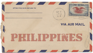 Recent missionary letter from the Philippines