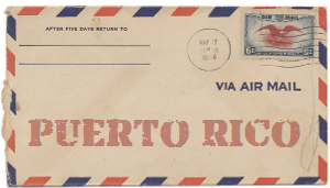 Recent missionary letter from Puerto Rico