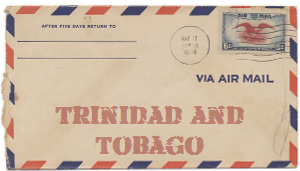 Recent missionary letter from Trinidad and Tobago
