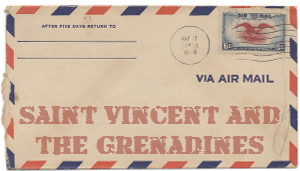 Recent missionary letter from Saint Vincent and the Grenadines